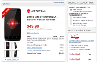 2013-08-06 12_07_11-DROID MINI by MOTOROLA - Black for Verizon Wireless - Wirefly.com and Android Po