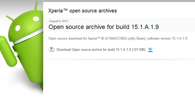 2013-08-08 14_43_14-Open source archive for build 15.1.A.1.9 – Developer World