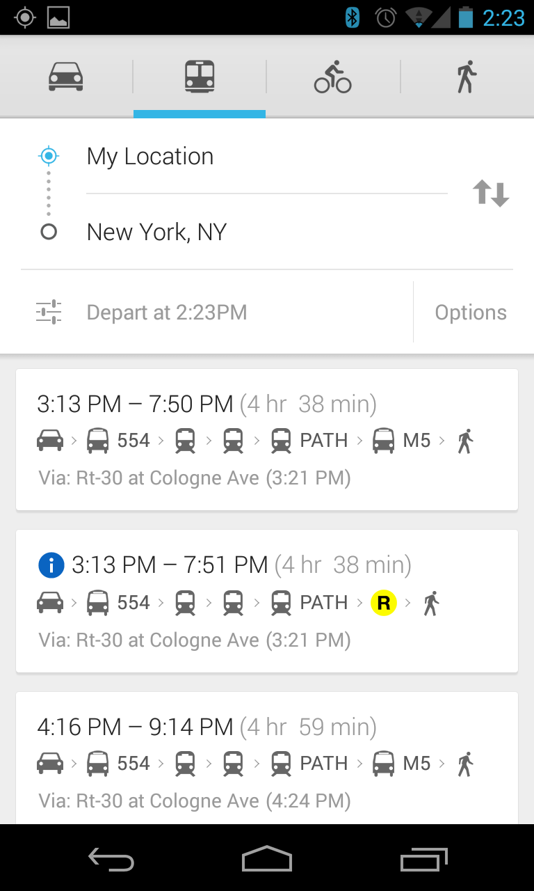 APK Teardown/Download] Google Maps 7 1 - Google Is Testing