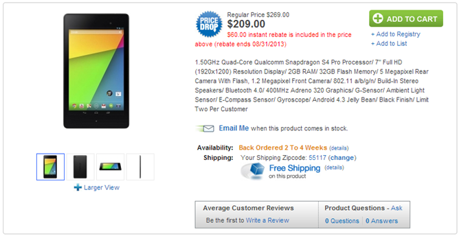 2013-08-30 15_50_19-NEXUS7 ASUS-2B32 - Google Nexus 7 FHD Black Wi-Fi 32GB Tablet at Abt