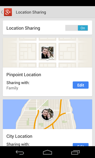 4location-sharing-settings
