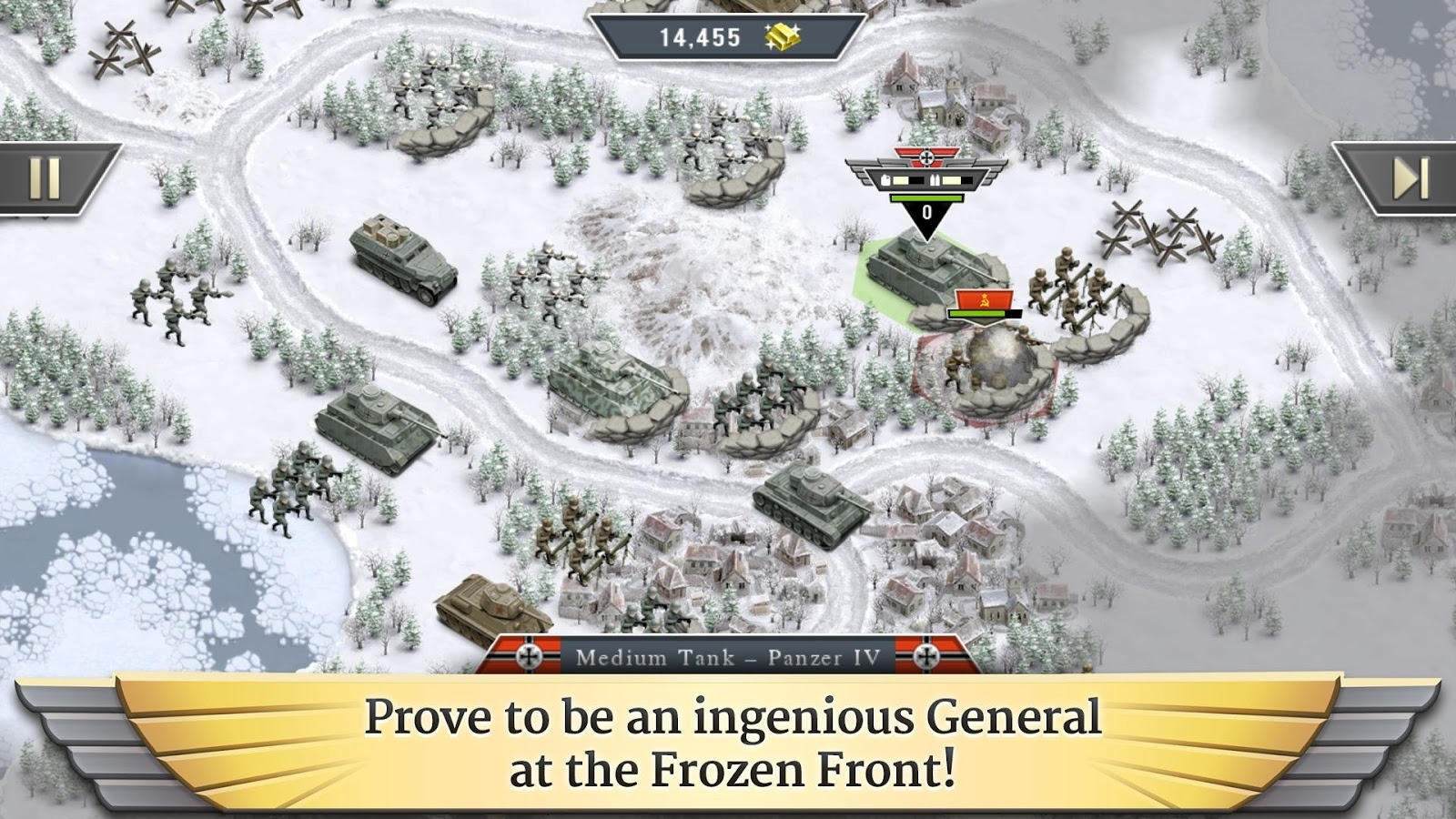New Game] HandyGames Releases 1941 Frozen Front – Turn-Based