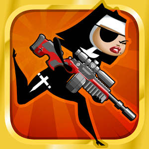 New game nun attack run amp gun blasts into the play store armed with