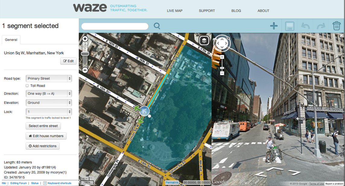 Google Maps Adds Real Time Incident Reporting Courtesy Of Waze - Google satellite maps street view
