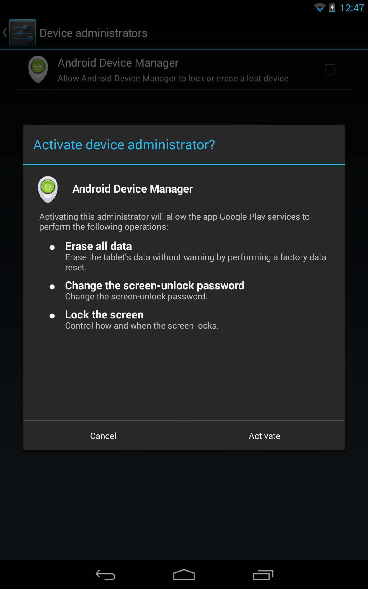 Apk Website Teardown Next Up For Android Device Manager Remote
