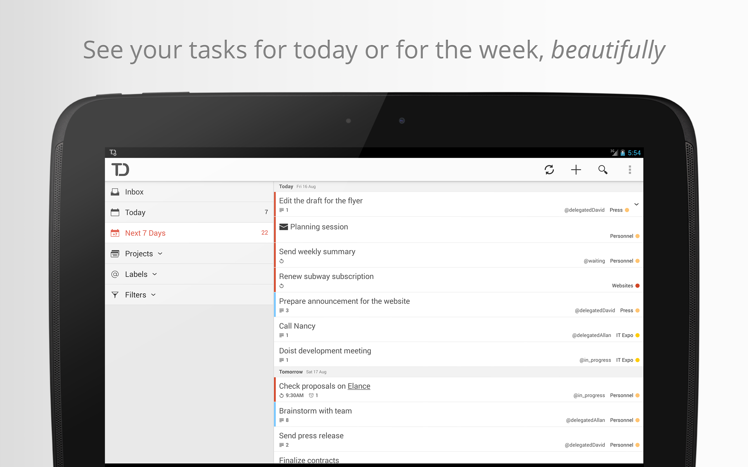 Todoist v2.0 Brings New Visuals, More Powerful Search, A Simplified Interface, And More