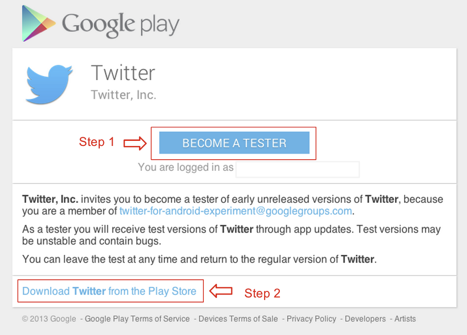 Twitter Launches Official Play Store Beta - Sign Up Now To Get New Features Before Anyone Else