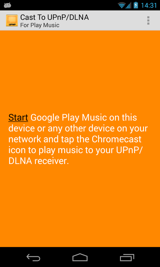 'Cast To UPnP/DLNA For GMusic' Can Stream Google Music To PCs, TVs, XBMC, Xbox 360s, And Many Other Supported Devices