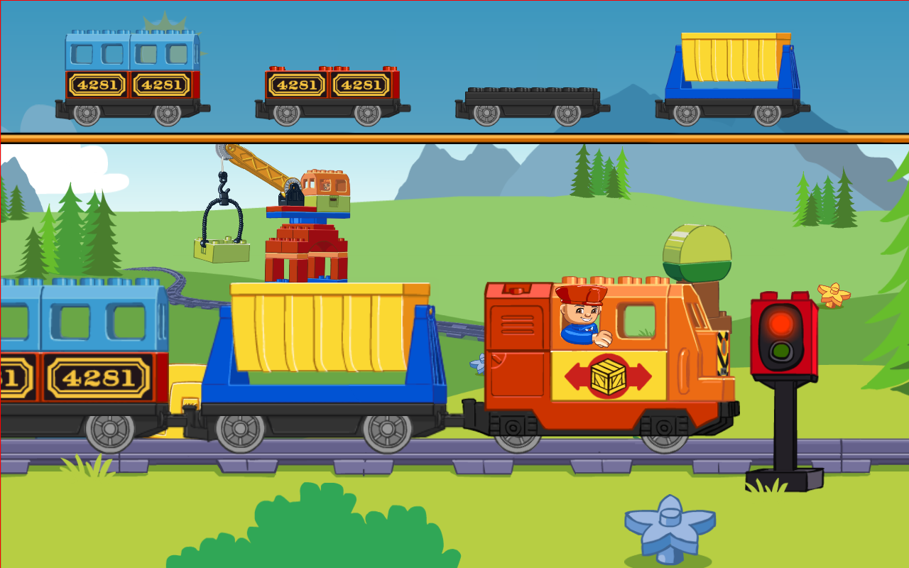 Welcome to the walkthrough for the ios game lego duplo train