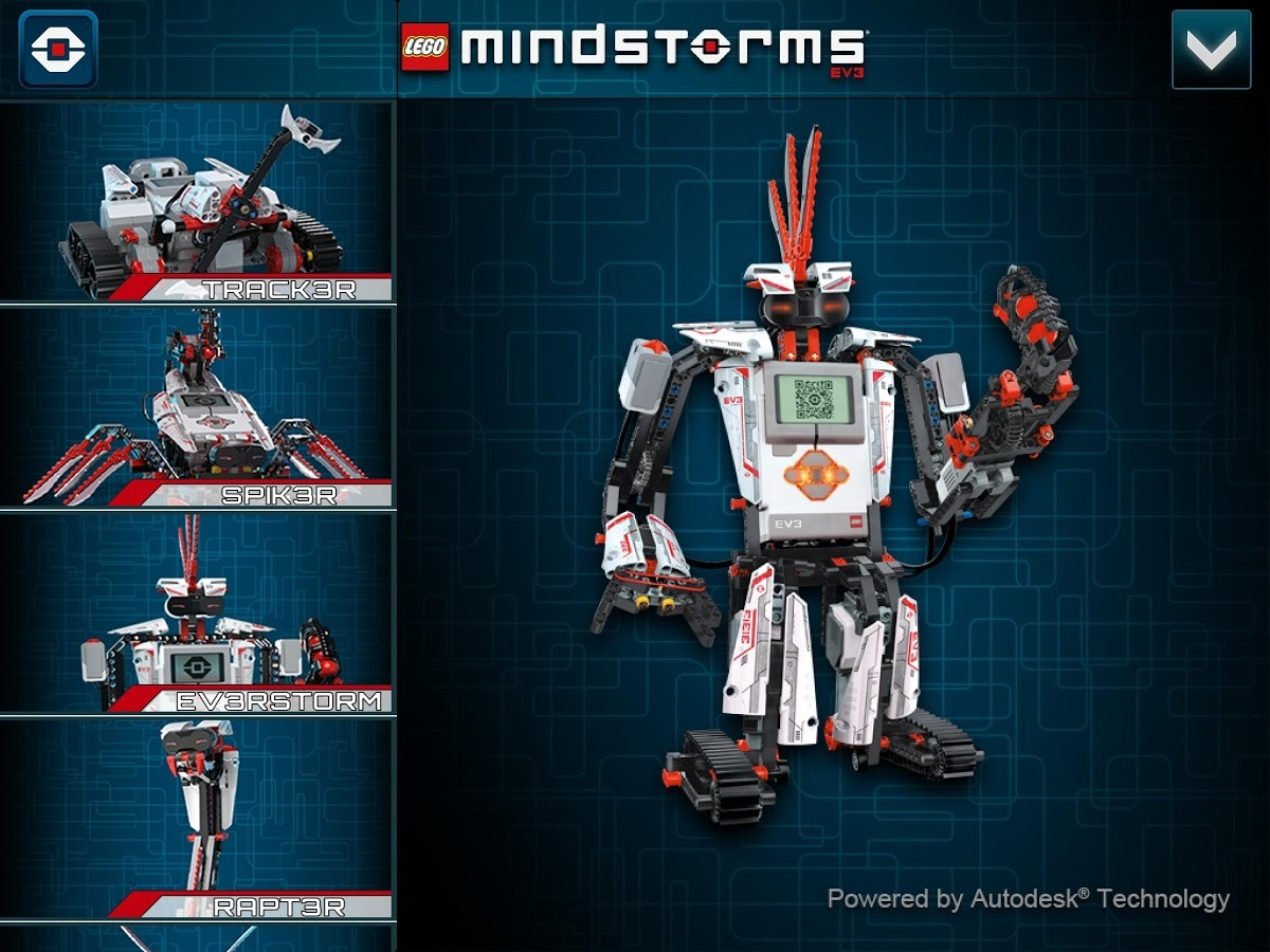 New Apps] LEGO Releases A Trio Of Mindstorms EV3 Apps In