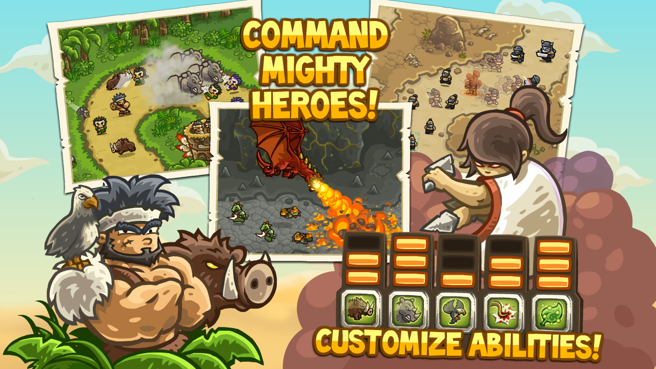 [New Game] Kingdom Rush Frontiers Finally Hits Android With Challenging Gameplay And A Huge Arsenal Of Towers