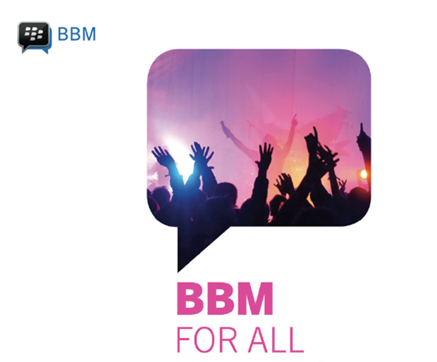 BlackBerry เตรียมปล่อยให้ดาวโหลด BBM บน Android และ iOS ตั้งแต่วันที่ 21 กันยายนนี้