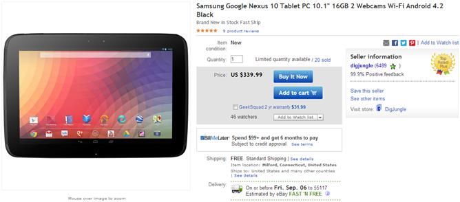 2013-09-02 12_58_31-Samsung Google Nexus 10 Tablet PC 10 1_ 16GB 2 Webcams Wi Fi Android 4 2 Black 8