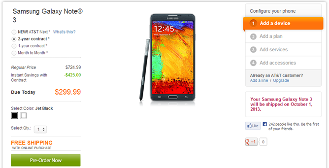 2013-09-06 00_46_08-Samsung Galaxy Note 3 - Jet Black cell phone from AT&T