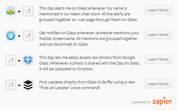 2013-09-11 09_03_15-Google Glass gets Connected to 200  Services - Zapier