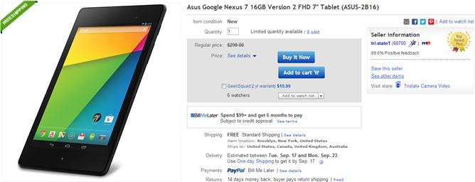 2013-09-13 14_40_15-Asus Google Nexus 7 16GB Version 2 FHD 7_ Tablet Asus 2B16 886227534906 _ eBay