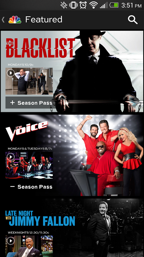 New App] NBC App Lets You Stream Full TV Episodes For Free