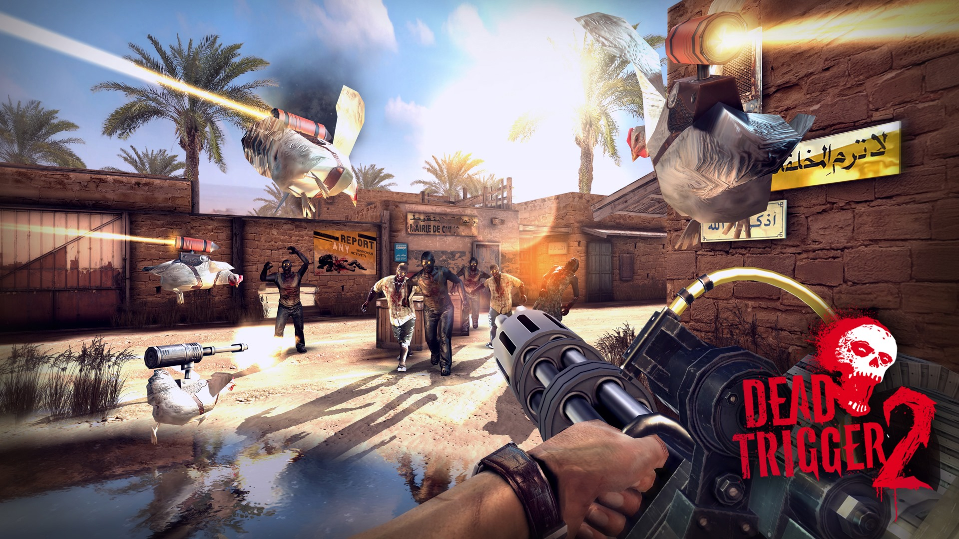 Dead Trigger 2 Drops October 23 New Trailer To Get You In The