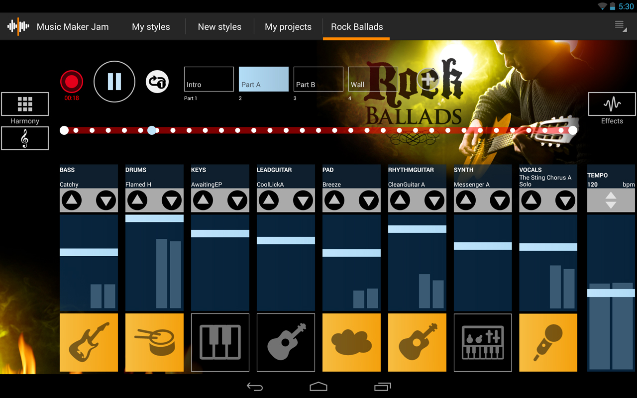 new app music maker jam is a windows song mixing app making the hop to android now available. Black Bedroom Furniture Sets. Home Design Ideas