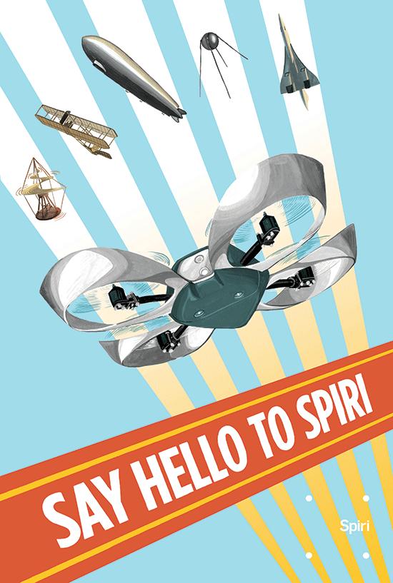 Spiri Programmable Flying Robot Hovers Over $125,000 Kickstarter Funding Goal
