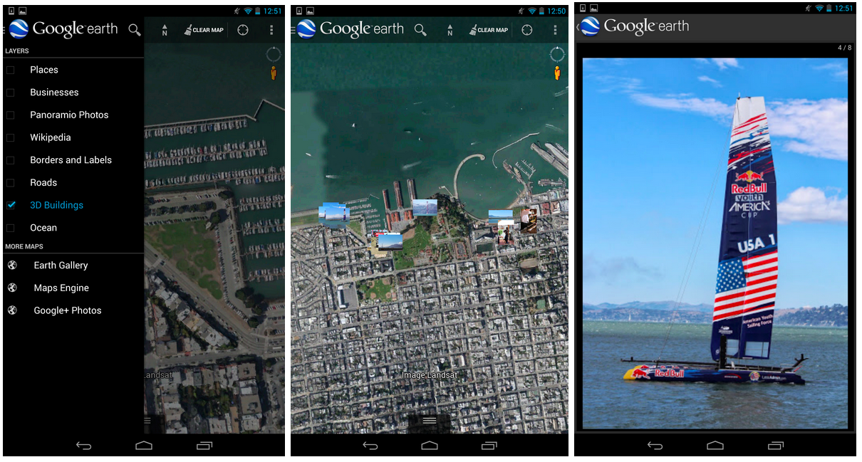 Google earth updated to v712 shows your geocoded google photos earth photos gumiabroncs Image collections