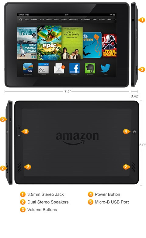 Amazon Announces Kindle Fire HDX Tablets In 7-inch And 8.9 ...