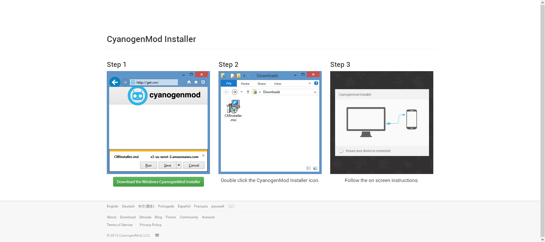 Hands-On With CyanogenMod Installer