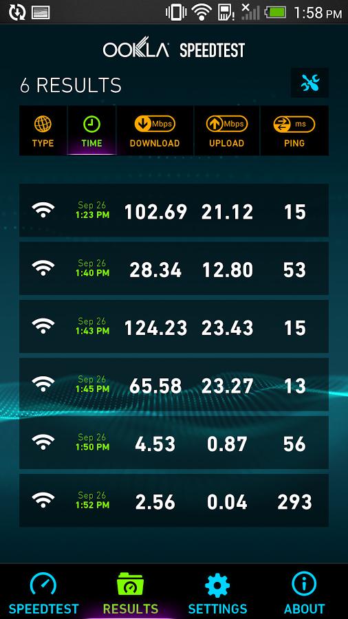ookla speed test download