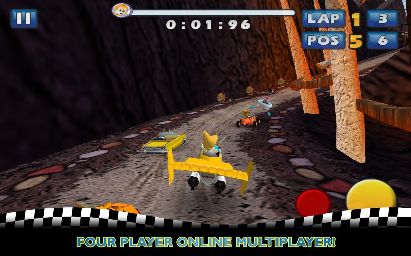 Phone Sega Games For Android Phones new game sonic sega all stars racing released for android unnamed 3 4