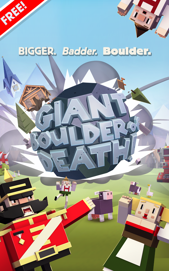 New Game] With Giant Boulder Of Death, Adult Swim Does What