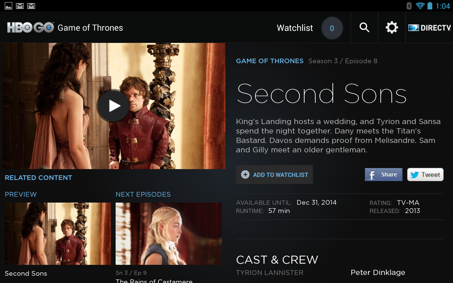 HBO GO And MAX GO App Updates Finally Add Android 4 3