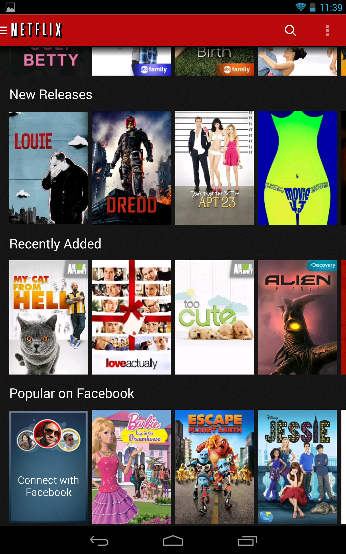 Netflix v3 0 For Android Begins A Slow Rollout – Complete Redesign