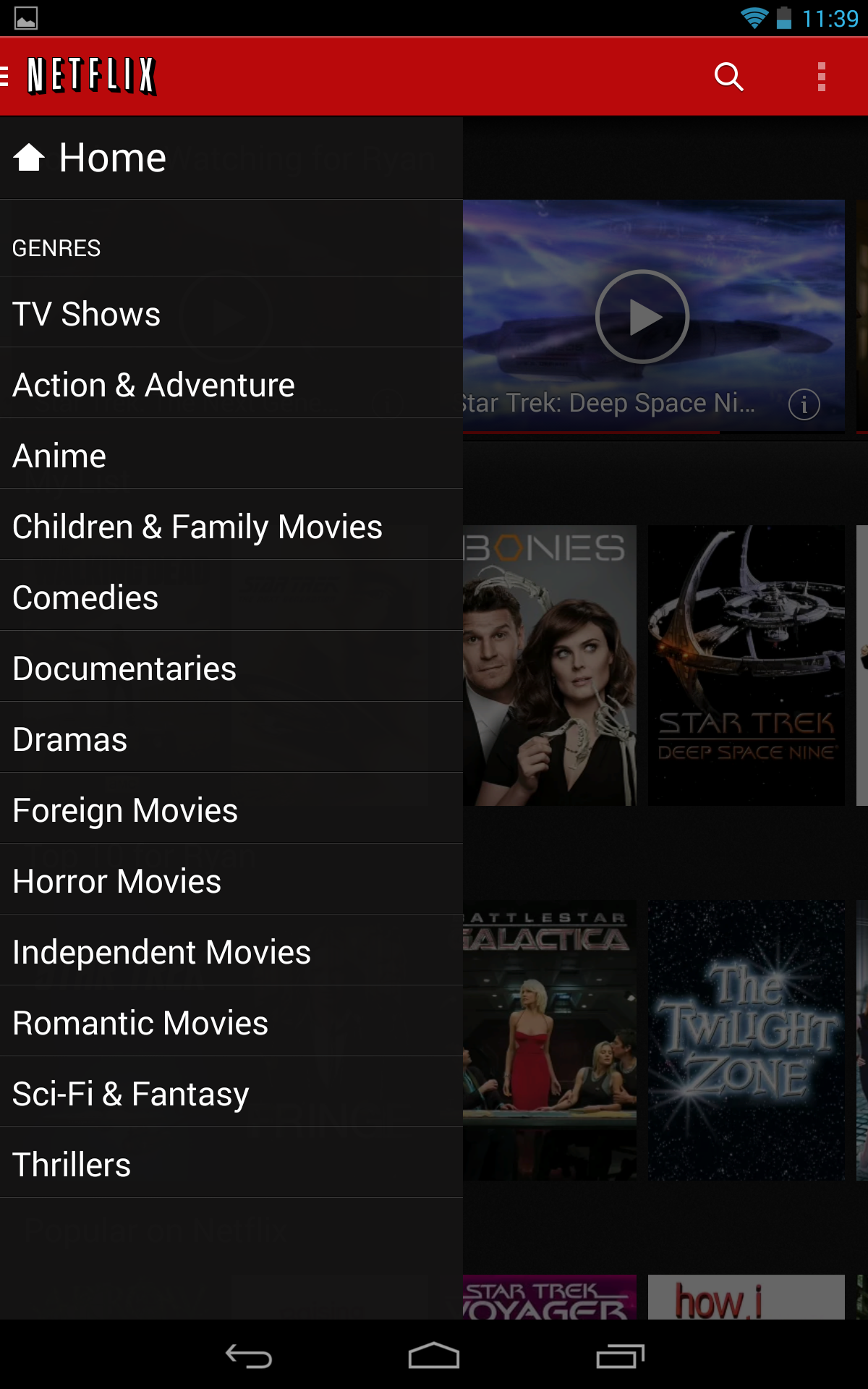 Netflix v3 0 For Android Begins A Slow Rollout – Complete