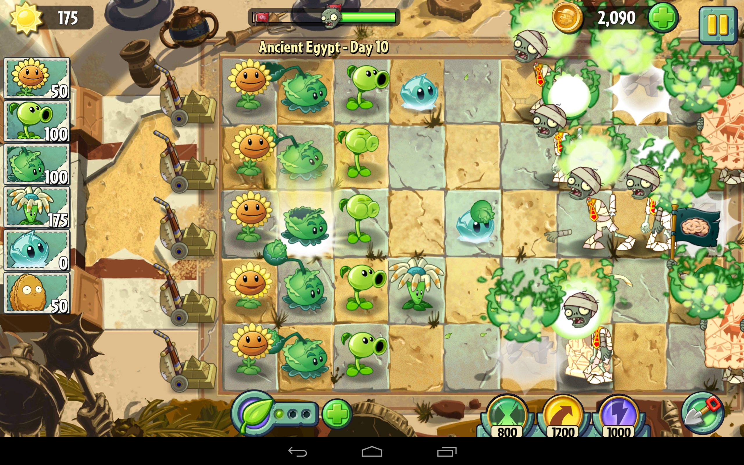 Plants vs zombies 2 review this time the zombies want your 2013 10 22 075151 voltagebd Gallery
