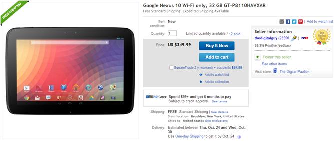 2013-10-22 10_13_11-Google Nexus 10 Wi Fi Only 32 GB GT P8110HAVXAR 813774015190 _ eBay