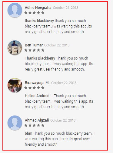 5-stars Response Blackberry App Is In Hours On update Accumulates Nearly Ratings 65k Bbm's Stuffing 24 Play From The Someone Store