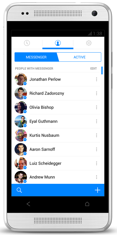 how to send message to all friends on facebook messenger