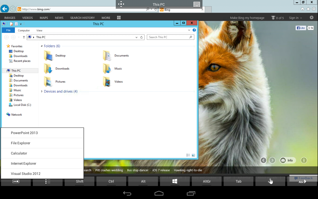 New App] Microsoft Releases Remote Desktop Client For Android