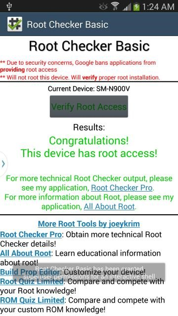 Verizon Galaxy Note 3 (SM-N900V) Now Has Root, But The Method Still