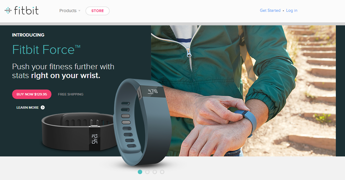 Fitbit Force Fitness Bracelet Is A Personal Trainer On Your Wrist That Can Double As A Smartwatch, Available Now For $129.95