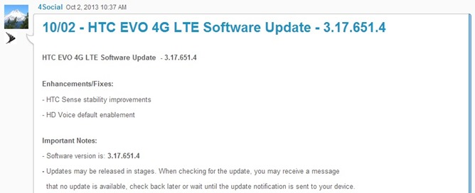 HTCEVO4GLTE-Update