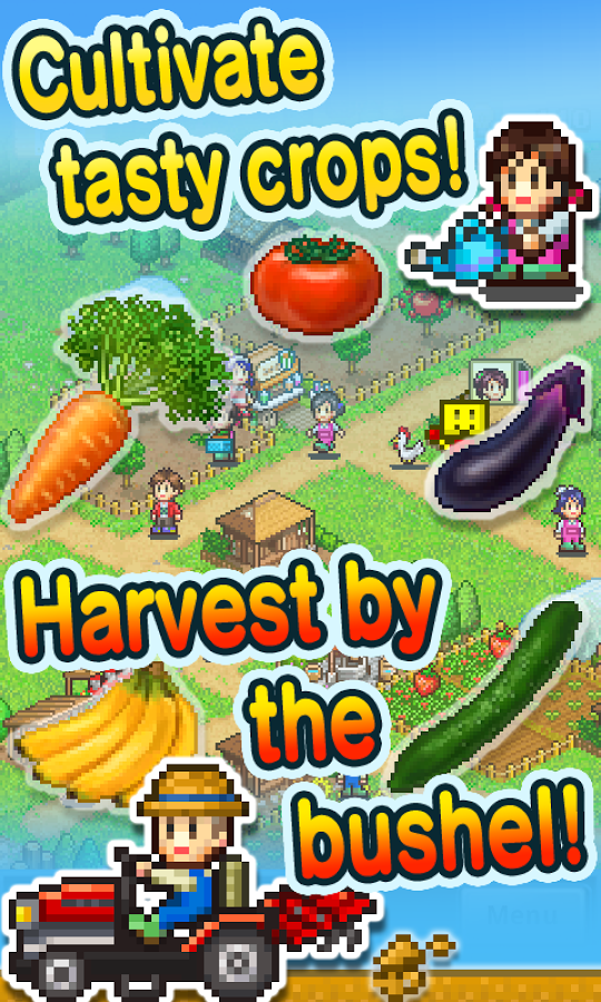 [New Game] Kairosoft's Pocket Harvest Gives You A Pair Of ...