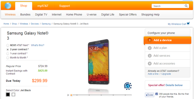 Note3AT&T