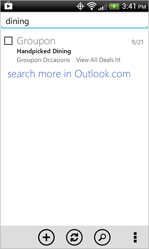 Outlook Android App Gets Updated With Server-Side Search, Alias Support, New Themes, And More
