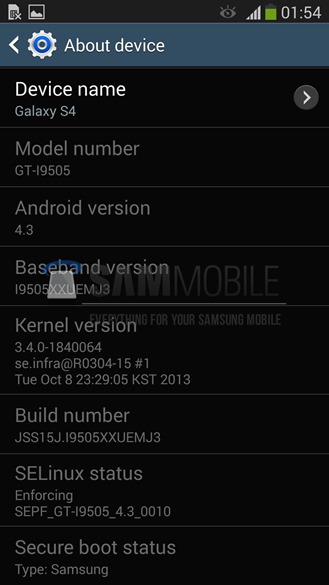 Samsung Issues Official Android 4.3 Update For The Galaxy ...