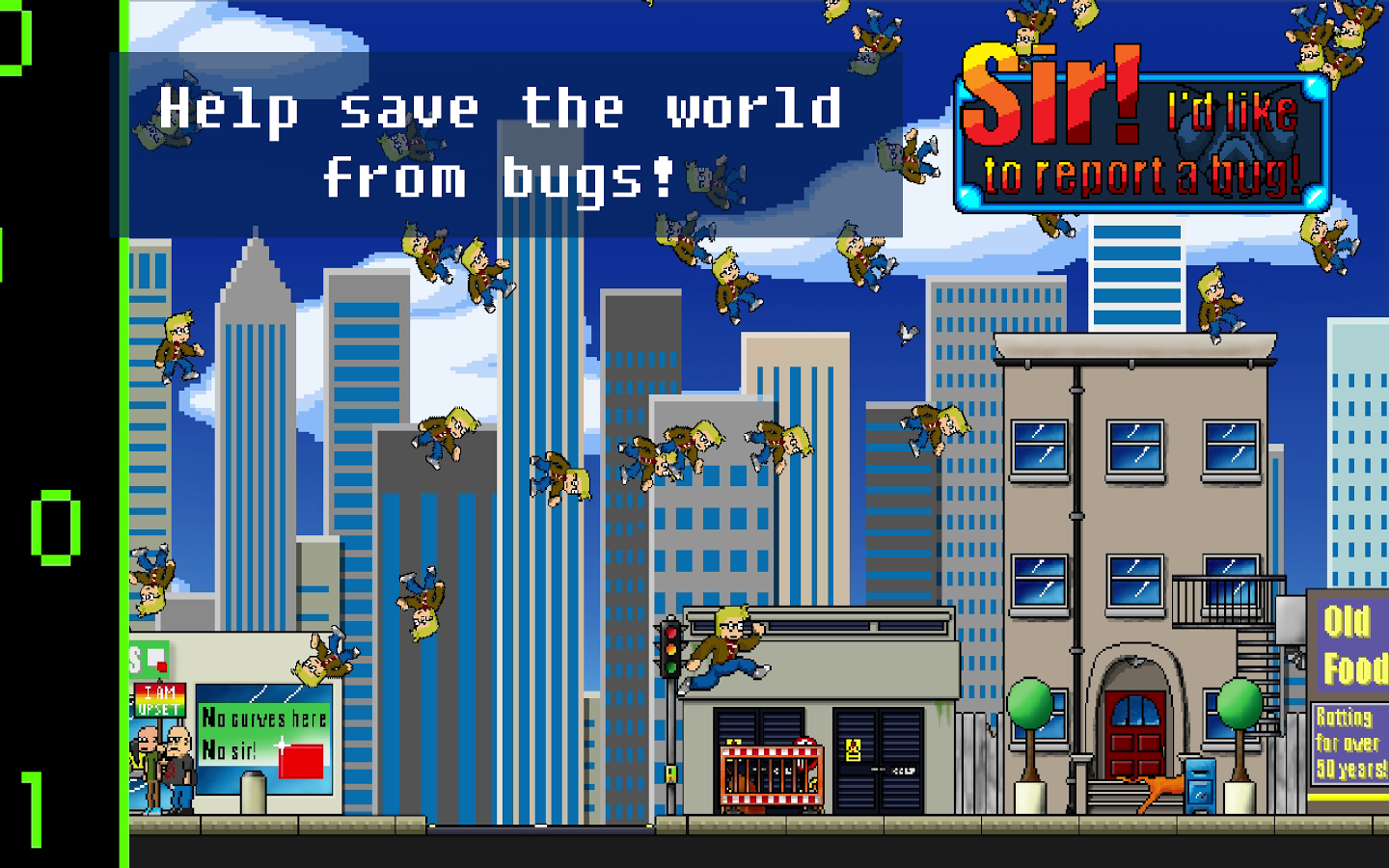 [New Game] Sir! I'd Like To Report A Bug! Is A Challenging 2D Platformer Free Of Ads And IAPs That Is Bound To Make You Curse