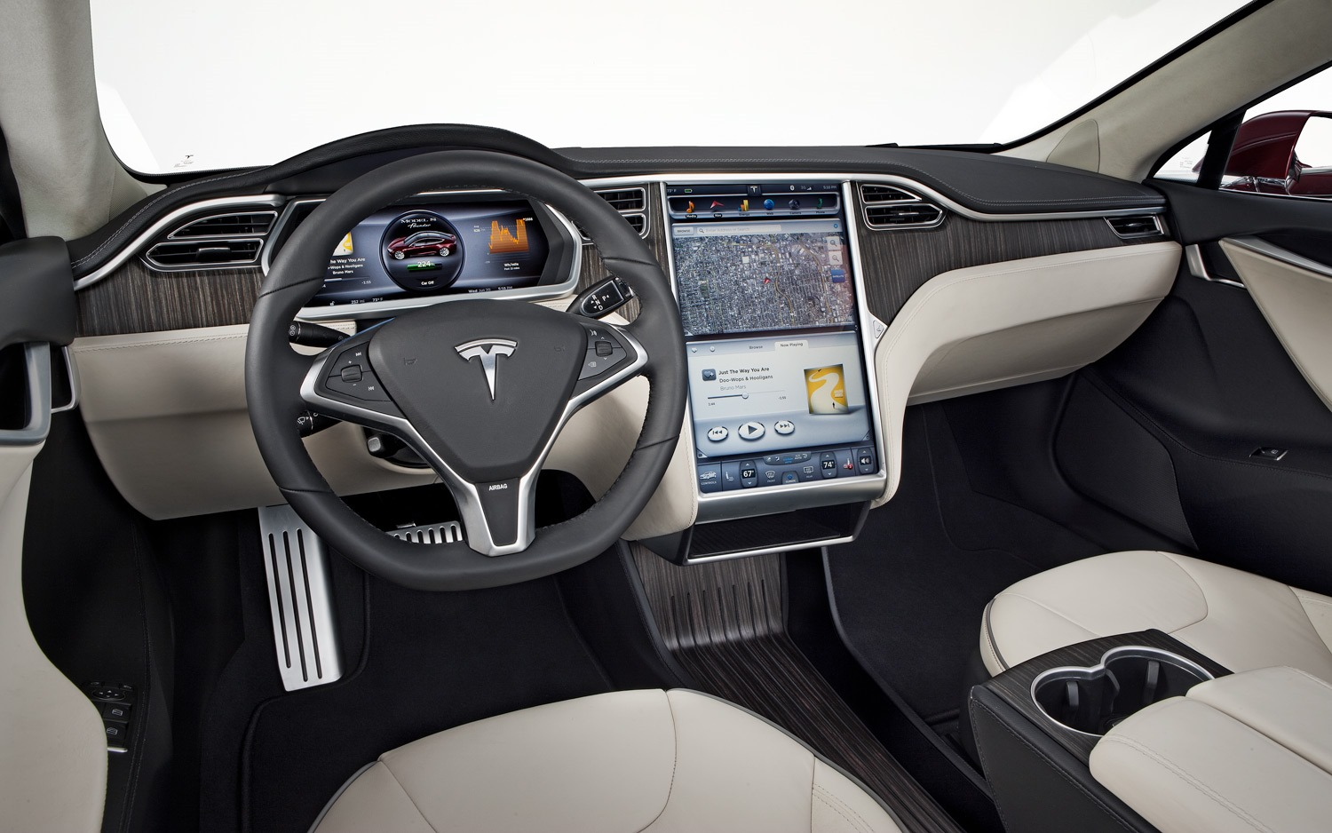 Elon Musk Says A Full Android Emulator And Chrome Browser Could Be Coming To The Tesla Model S