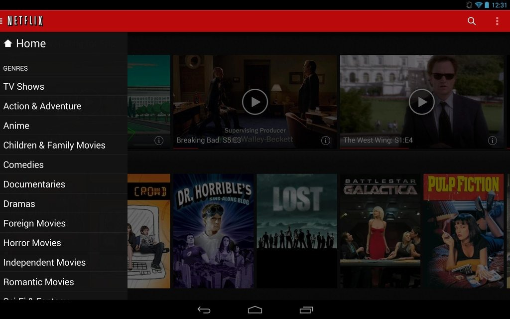 Netflix V3 0 For Android Begins A Slow Rollout Complete