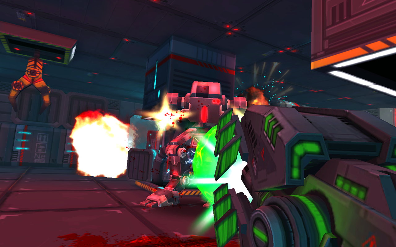 [New Game] First-Person Shooter Neon Shadow From Crescent ...