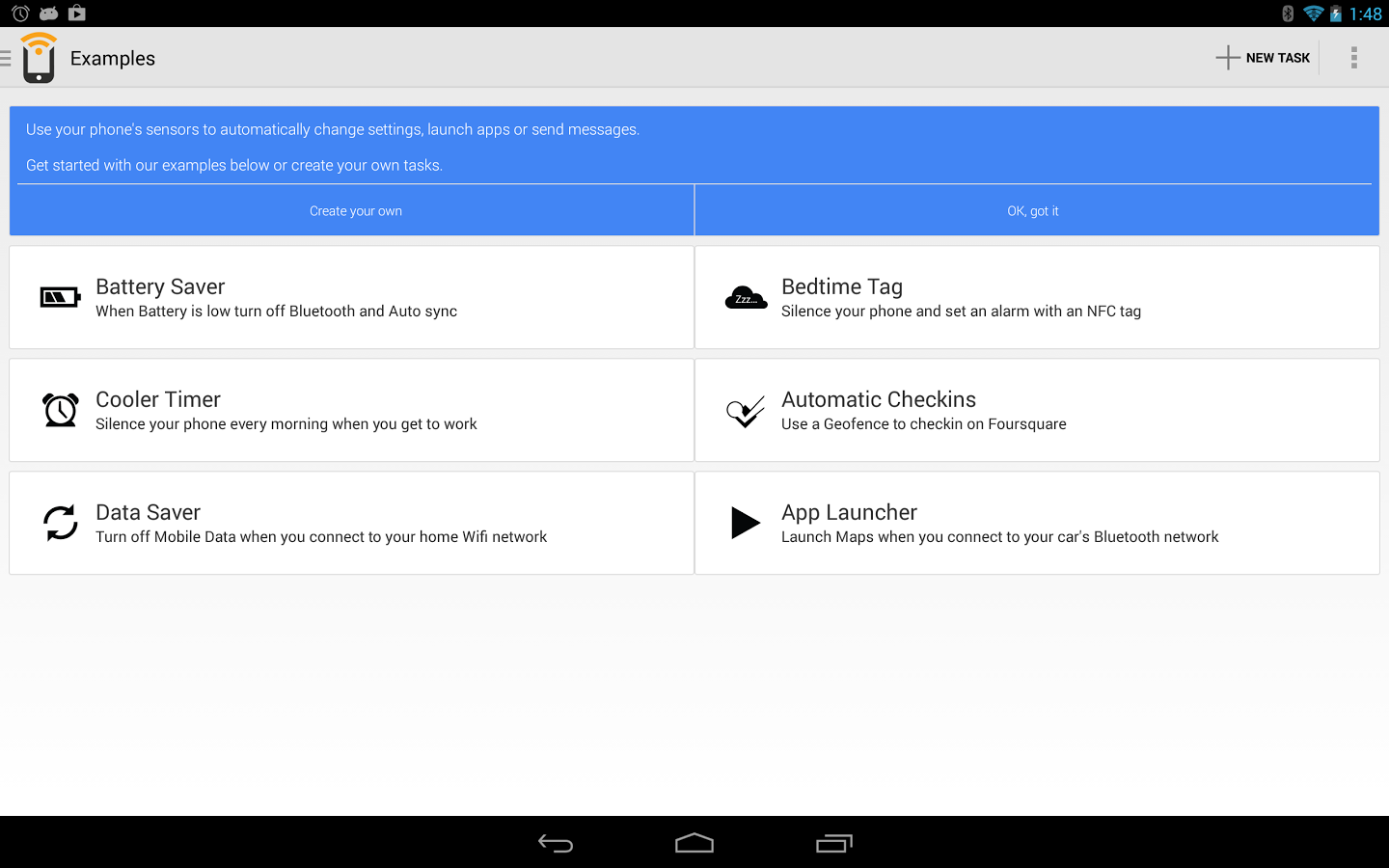 NFC Task Launcher Is Now Trigger: Update Adds New UI And